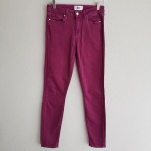PAIGE // Hoxton Ultra Skinny Jeans 27